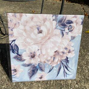 "2/$15 Canvas Print Modern Floral Art 8""x8"""
